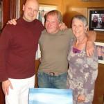 Dave Croxford winner of Isle of Man TT race